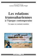 Pdf Les relations transsahariennes à l'époque contemporaine Telecharger
