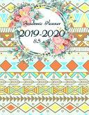Academic Planner 2019-2020 8.5 X 11