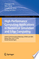 High Performance Computing Applications in Numerical Simulation and Edge Computing Book