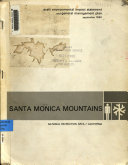 Santa Monica Mountains National Recreation Area  California