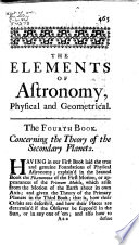 The Elements of Astronomy, Physical and Geometrical