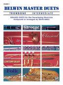 Belwin Master Duets (Trombone), Vol 1: Intermediate
