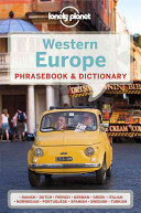 Lonely Planet Western Europe Phrasebook Dictionary