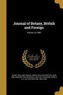 JOURNAL OF BOTANY BRITISH   FO