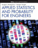 Applied Statistics and Probability for Engineers  WileyPLUS Card with Loose leaf Set