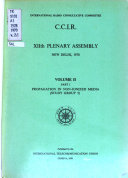 C C I R  12th Plenary Assembly  New Delhi  1970  pt  2  Ionospheric propagation  Study group 6