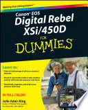 Read Online Canon EOS Digital Rebel XSi/450D For Dummies For Free