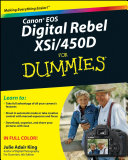 Canon EOS Digital Rebel XSi 450D For Dummies