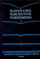 Surveying Subjective Phenomena