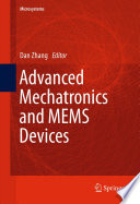 Advanced Mechatronics And Mems Devices Book PDF