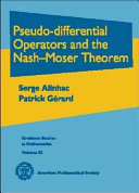 Pseudo-differential Operators and the Nash-Moser Theorem