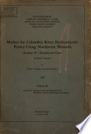 Market for Columbia River Hydroelectric Power Using Northwest Minerals Book