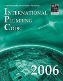 International Plumbing Code Book