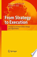 From Strategy to Execution Book