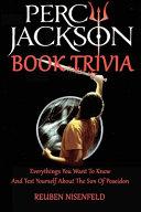 Percy Jackson Book Trivia