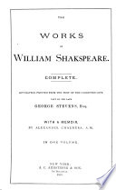 The Works Of Shakespeare Book PDF