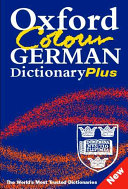 Oxford Color German Dictionary Plus