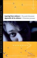 Pdf Apprendre de la Violence : Dimension Jeunesse Telecharger