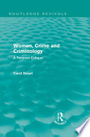 Women Crime And Criminology Routledge Revivals