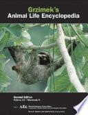 Grzimek S Animal Life Encyclopedia 2nd Ed Thomson Gale Group 2004
