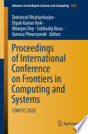 Proceedings of International Conference on Frontiers in Computing and Systems