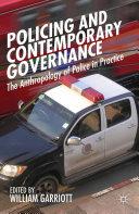 Policing and Contemporary Governance Pdf/ePub eBook