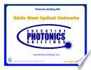 SANs Meet Optical Networks