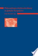 Philosophiegeschichtsschreibung in globaler Perspektive
