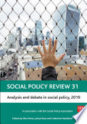 Social Policy Review 31