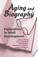 Aging and Biography Book