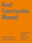 Roof Construction Manual