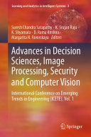 Advances in Decision Sciences, Image Processing, Security and Computer Vision