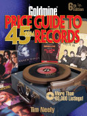 Pdf Goldmine Price Guide to 45 RPM Records