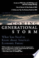 The Coming Generational Storm Book
