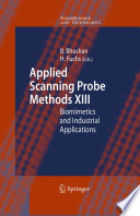 Applied Scanning Probe Methods Xiii Book PDF