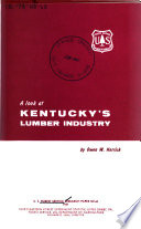 A Look at Kentucky s Lumber Industry Book