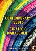 Contemporary Issues in Strategic Management Pdf/ePub eBook
