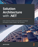 Solution Architecture with  NET