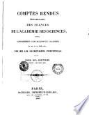 Comptes Rendus Hebdomadaires des Seances de l'Academie des Sciences