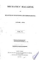 Mechanics Magazine And Register Of Inventions And Improvements