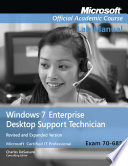 Windows 7 Enterprise Desktop Support Technician, Revised and Expanded Lab Manual: Exam 70-685