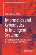 Informatics and Cybernetics in Intelligent Systems