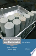 Rock Mechanics and Engineering Volume 2