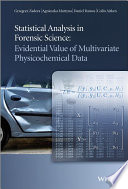 Statistical Analysis in Forensic Science Book