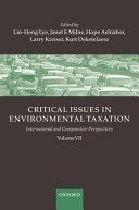 Critical Issues in Environmental Taxation