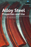 Alloy Steel   Properties and Use