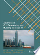 Advances in Civil Engineering and Building Materials IV