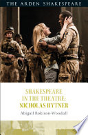 Shakespeare In The Theatre Nicholas Hytner