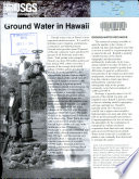 Ground water in Hawaii