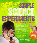 365 More Simple Science Experiments with Everyday Materials Book PDF